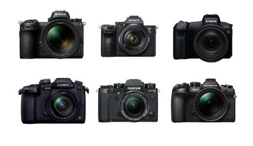 20万円前後のオススメのミラーレス一眼カメラ6選。特徴や性能、オススメレンズも紹介。