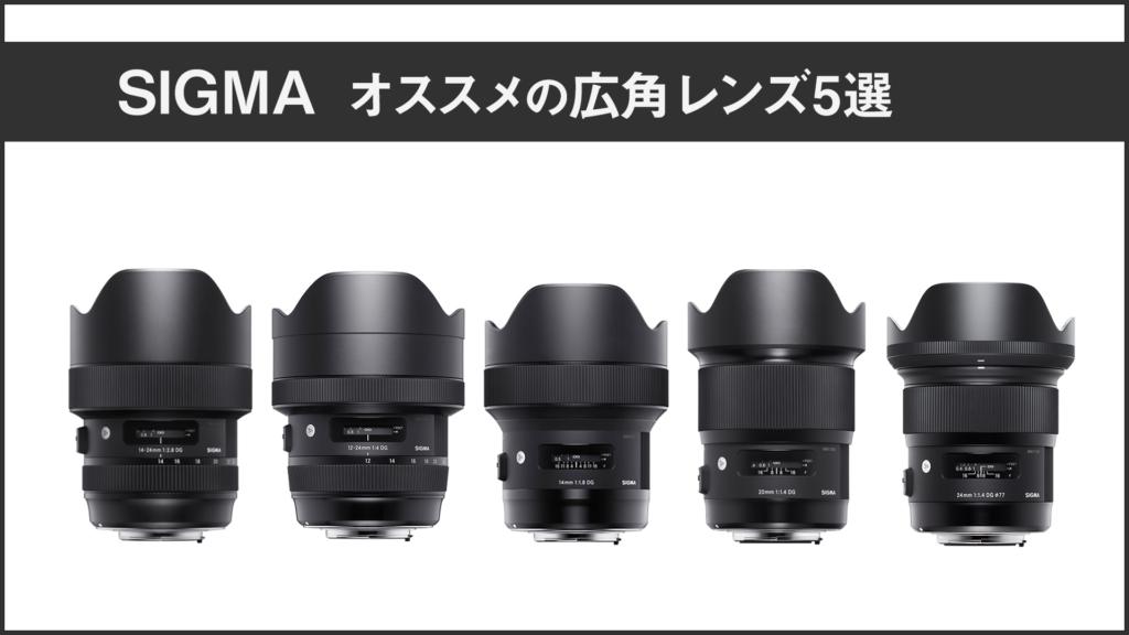 SIGMA 広角レンズ