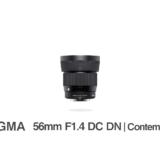 SIGMA 56mm F1.4 DC DN