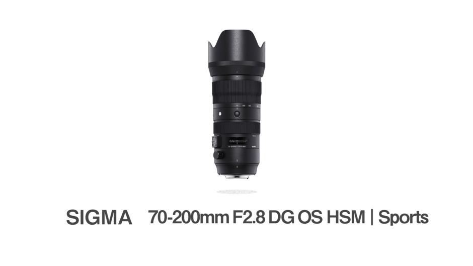 SIGMA 70-200mm F2.8 DG OS HSM